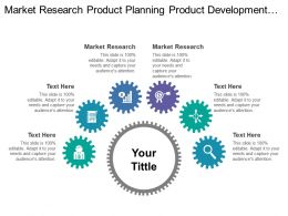 Market Research Product Planning Product Development Sales Planning