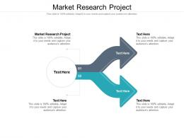 Market Research Project Ppt Powerpoint Presentation Summary Graphics Cpb