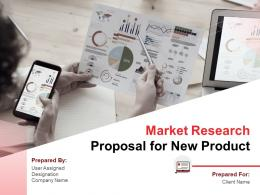 Market Research Proposal For New Product Powerpoint Presentation Slides