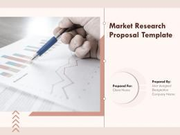 Market Research Proposal Template Powerpoint Presentation Slides