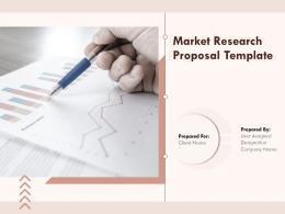 Market Research Proposal Template Powerpoint Presentation Slides
