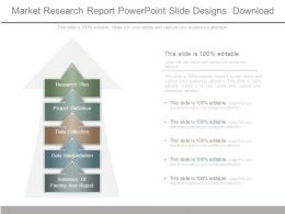 Market Research Report Powerpoint Slide Designs Download