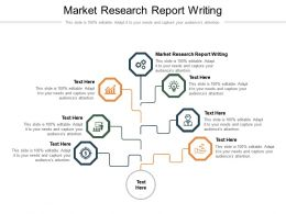 Market Research Report Writing Ppt Powerpoint Presentation Infographic Template Portrait Cpb