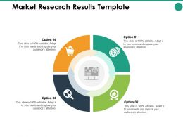 Market Research Results Option Ppt Powerpoint Presentation Pictures Graphic Tips