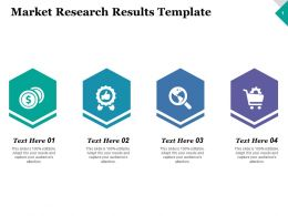 Market Research Results Strategy Ppt Inspiration Graphics Example