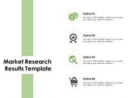 Market Research Results Template Portfolio Ppt Powerpoint Presentation Gallery