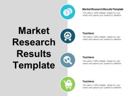 Market Research Results Template Ppt Powerpoint Presentation Ideas Inspiration Cpb