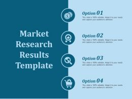 Market Research Results Template Ppt Slides Background Designs