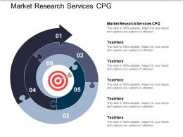 Market Research Services Cpg Ppt Powerpoint Presentation Ideas Slide Cpb