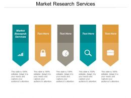 Market Research Services Ppt Powerpoint Presentation Layouts Outline Cpb