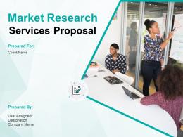 Market Research Services Proposal Powerpoint Presentation Slides