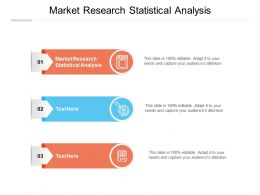 Market Research Statistical Analysis Ppt Powerpoint Presentation Layouts Cpb