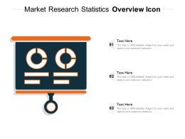 Market Research Statistics Overview Icon