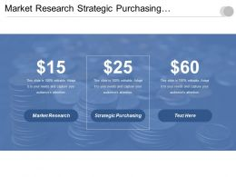 Market Research Strategic Purchasing Productivity Measure Consumer Market Segments Cpb