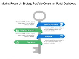 Market Research Strategy Portfolio Consumer Portal Dashboard Data Management
