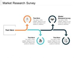 Market Research Survey Ppt Powerpoint Presentation Portfolio Designs Download Cpb