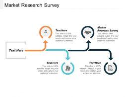 Market Research Survey Ppt Powerpoint Presentation Portfolio Designs Download Cpb