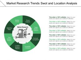 Market Research Trends Swot And Location Analysis