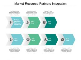 Market Resource Partners Integration Ppt Powerpoint Presentation Slides Format Ideas Cpb