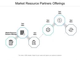 Market Resource Partners Offerings Ppt Powerpoint Presentation Icon Examples Cpb