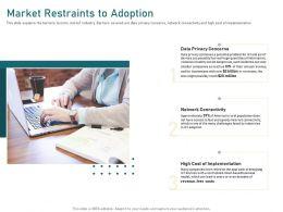 Market Restraints To Adoption To Fast Ppt Powerpoint Presentation Summary Background