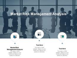 Market Risk Management Analysis Ppt Powerpoint Presentation Topics Cpb