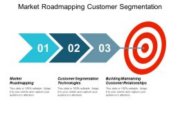 Market Roadmapping Customer Segmentation Technologies Building Maintaining Customer Relationships Cpb