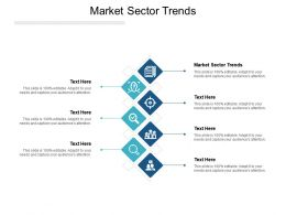 Market Sector Trends Ppt Powerpoint Presentation Show Visuals Cpb