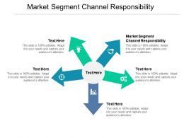 Market Segment Channel Responsibility Ppt Powerpoint Presentation Slides Example Cpb