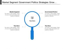 Market Segment Government Politics Strategies Grow Market Demand