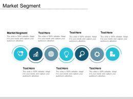 Market Segment Ppt Powerpoint Presentation Gallery Smartart Cpb