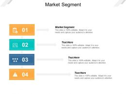 Market Segment Ppt Powerpoint Presentation Layouts Pictures Cpb