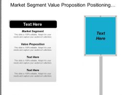 Market Segment Value Proposition Positioning Strategy Consumer Market Cpb