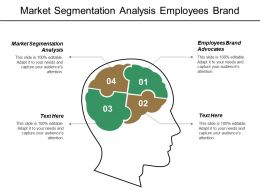 Market Segmentation Analysis Employees Brand Advocates Customer Care Transformation Cpb