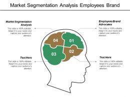 Market Segmentation Analysis Employees Brand Advocates Customer Care Transformation Cpb
