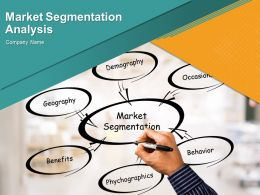 Market Segmentation Analysis Example Powerpoint Presentation Slides