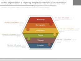 Market Segmentation And Targeting Template Powerpoint Slide Information