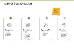 Market Segmentation Behavioral Ppt Powerpoint Presentation Gallery Samples