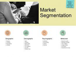 Market Segmentation Behavioural Ppt Powerpoint Presentation Portfolio Introduction
