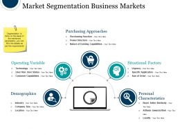Market Segmentation Business Markets Powerpoint Images