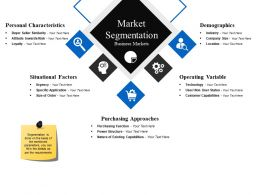 Market Segmentation Business Markets Powerpoint Show