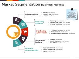 Market Segmentation Business Markets Ppt Examples