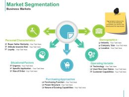 Market Segmentation Business Markets Ppt Styles Graphics Example