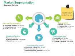 Market Segmentation Business Markets Ppt Styles Graphics Example