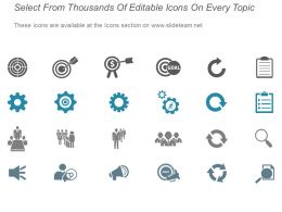 Market Segmentation Evaluation Companys Core Competency Template Presentation Visuals