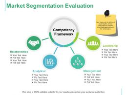 Market Segmentation Evaluation Competency Framework Leadership Management