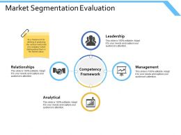 Market Segmentation Evaluation Leadership Ppt Powerpoint Presentation Gallery Samples