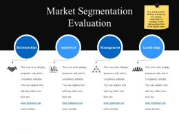 Market Segmentation Evaluation Powerpoint Graphics