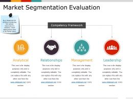 Market Segmentation Evaluation Ppt Inspiration