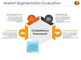 Market Segmentation Evaluation Sample Ppt Files